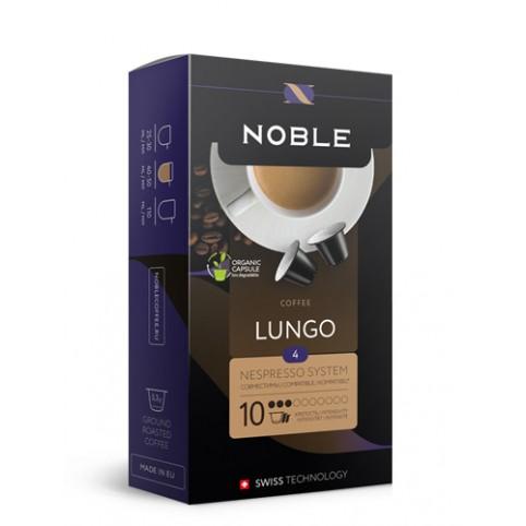 Капсулы Noble Lungo (формат Nespresso)