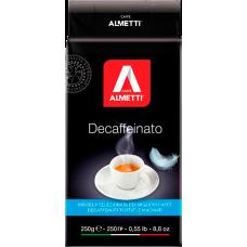 Кофе ALMETTI Decaffeinato молотый (без кофеина) 250 гр.