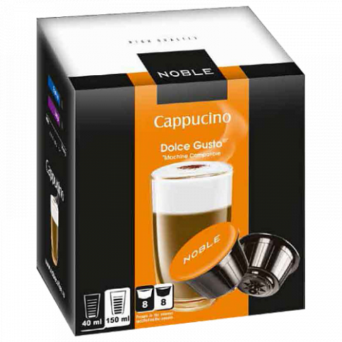 Капсулы Noble Cappuccino Dolce Gusto