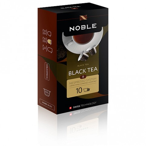 Капсулы Noble Black Tea (формат Nespresso)