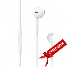 Наушники Apple EarPods с разъёмом 3,5 мм, MNHF2ZM/A